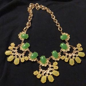 One of a kind green statement piece